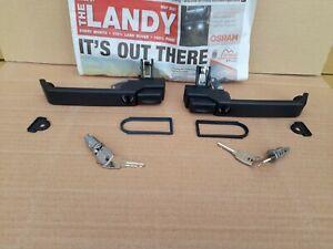 Land Rover Defender 90, 110 Door Handle 87-01 MXC7651 MXC7652 With Key/locks
