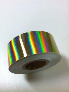 OIL SLICK Holographic Rainbow Tape, Changes Colors,  Pick Color & Size,