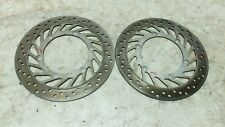 91 Honda ST 1100 ST1100 Pan European front brake rotors disks