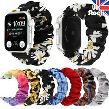 UK 38/40 42/44mm Fashion Scrunchie Loop Band Strap For iWatch Series 5/4/3/2/1