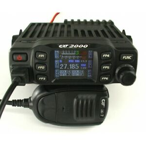 CRT2000 Multistandard AM FM CB Radio with Colour Display CRT 2000  UK EU mobile
