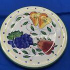 Belle Casa by Ganz fruit pattern dinner plate