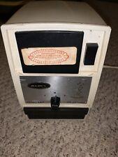 Vintage Dazey Electric Adjustable Ice Crusher Model 1100 Usa Tested~Works