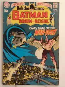 DC Comics DETECTIVE COMICS #400 (1970) Origin & 1st Appearance of Man-Bat