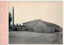 Vintage 1930s  B&W Photo West Bend WI Cannery from the West