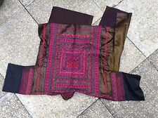 VINTAGE Chinese Embroidered Skirt ethnic folk costume Miao/Hmong minority dress