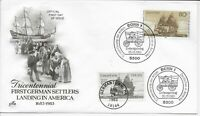 US Scott #2040, First Day Cover 4/29/83 Germantown Dual Cancel