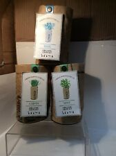 NEW LOT OF 3 URBAN AGRICULTURE CO. ORGANIC GROW KIT, BASIL, CHIVES, MINT