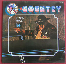 KENNY PRICE    LP TEST PRESSING  ORIG FR THE SHERIFF OF BOONE COUNTY