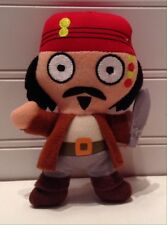 "Disney Pirates Of The Caribbean Movie 4"" Plush Captain Jack Sparrow Doll"