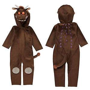 Girls Boys Childrens The Gruffalo Fancy Dress Age 3-8 Year Costume