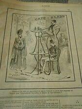 Typo 1888 - Les Cafés gagneraient ils pas en hauteur Tables et Chaises