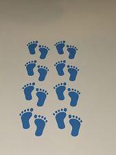 Pies de bebé azul 8 X Pares, Pegatinas de Vinilo Pared Arte Vivero, Bebé, Niños, Niños