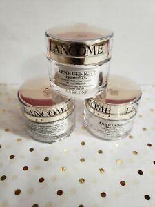 Lot of 3 Lancome Absolue Night Premium Bx Night Cream Each.5 oz NWOB