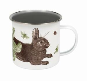 Thornback and Peel Rabbit and Cabbage Enamel Mug