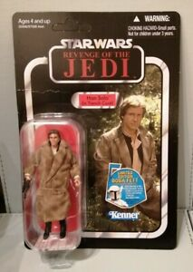 Star Wars Vintage Collection Han Solo (In Trench Coat) VC62. RARE UNPUNCHED.