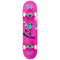 Enuff Skateboards Skully Complete Skateboard - Pink