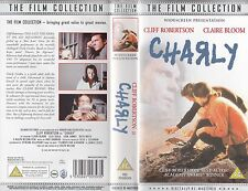 CHARLY VHS PAL CLIFF ROBERTSON,CLAIRE BLOOM NEW RARE 60'S