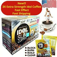 1BOX IDOL NEW SLIM COFFEE POWDER DRINK INSTANT DIET WEIGHT LOSS US SELLER🇺🇲