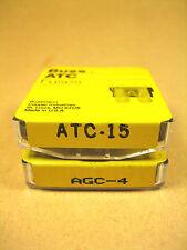 Cooper Bussmann -  AGC-4 & ATC-15 -  Fuses, 5pk AGC-4 200A 250VAC