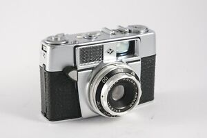Agfa Optima 1a 35mm film camera in good condition with leather case