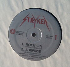 Rare Stryken - Four Track E.P. - Rock On - NM Vinyl - 1986 Chrystal Records