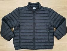 BNWT - Mens TU Thermolite INSULATED Quilted Padded ZIP Jacket BLACK - SIZE XL