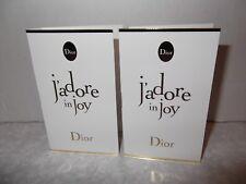 Women's Dior J'adore in Joy Eau De Toilette 2 X 1ml Sample Sprays