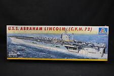 XU061 ITALERI 1/720 maquette bateau 515 USS Abraham Lincoln (C.V.N. 72) Nuclear