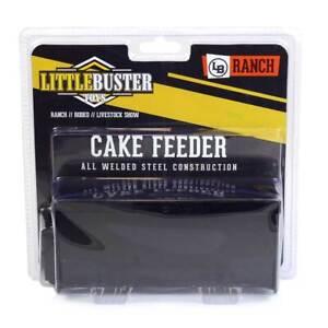 1/16 Little Buster Toys Black Metal Cake Feeder 200845
