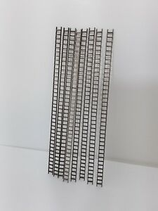 Laser Cut O Gauge 1:43 Scale Ladders Pack of 8 Sections 215mm Long 1.5mm Plywood