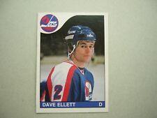 1985/86 O-PEE-CHEE NHL HOCKEY CARD #185 DAVE ELLETT ROOKIE NM SHARP!! 85/86 OPC