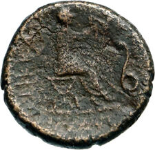TRIKKA in THESSALY Authentic Ancient 400BC Greek Coin NYMPH ASCLEPIUS i82770