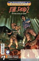 Evil Dead 2 #1 Beyond Dead By Dawn Unstamped Halloween Comic 2016 Space Goat NM