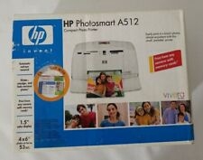 HP Photosmart A512 Digital Photo Inkjet Printer New