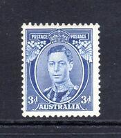 1937 - 3d BLUE - KG VI (DIE I) Ref: SG 168 - MINT MLH