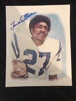 Howard Stevens Baltimore Colts Autographed Signed 8x10 Photo 1975-1977