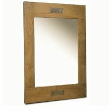 Unbranded Wooden Rectangle Decorative Mirrors