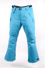 RIDE Mens Ski / Snowboard Pants - Phinney Soft Shell - Maya Blue