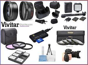 Hi Def Super Deluxe Zubehör Paket für Nikon D5500 D5300 D5200 D5100 D5000