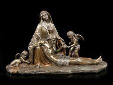 Jesus Figur liegt in Marias Armen - Pieta - Veronese Heiligen Statue Deko