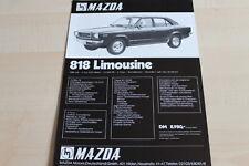 117998) Mazda 818 Prospekt 197?