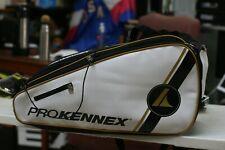 ProKennex Racquetball Bag WHITE, BLACK GOLD COLOR TOUR BAG 2020
