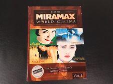 Best of Miramax World Cinema Collection Vol 1 Amelie Malena Paradiso Concubine