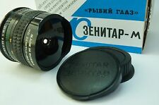 Zenitar 16 mm 2.8 MC FishEye 180° View Manual Lens Canon EF, EF-S