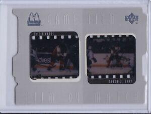 Eric Lindros 1997 McDonald's Upper Deck Game Film Hockey Card F4
