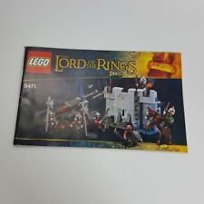Lego Lord of the Rings 9471 **MANUAL ONLY**