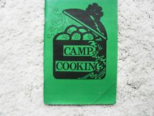 More details for camp cooking by k. pennycuick and p. sugden girl guides