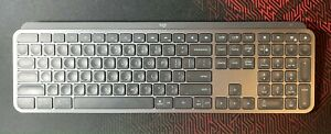 Logitech MX Keys Wireless Illuminated Keyboard - Black (920-009418)