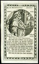 santino incisione 1600 S.RUSTICO V. DI NARBONA
